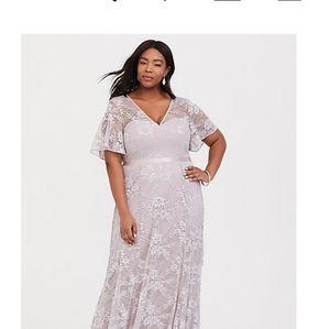 Torrid evening gown plus size